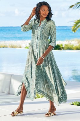 Jardin Marjorelle Shirtdress