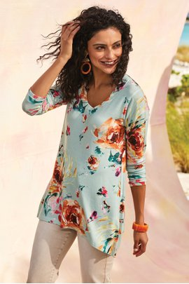 Spring Breeze Tunic