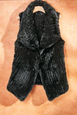 Faux Fur Vest I