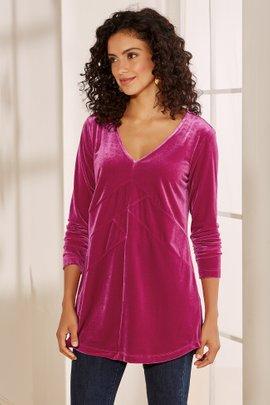Isolde Velvet Tunic