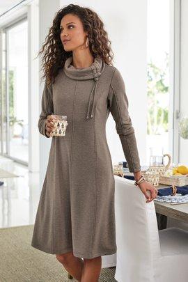 Caryn Cozy Cowl Dress