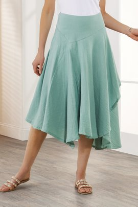Essential Gauze Skirt