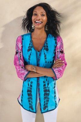 Curacao Silk Tunic & Tank