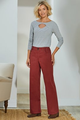 Alton Straight Leg Full Length Pants