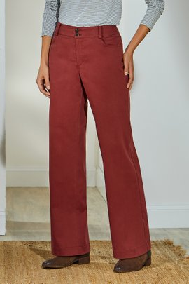 Alton Straight Leg Full Length Pants