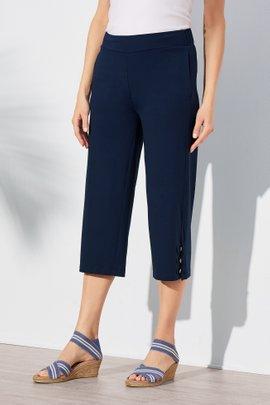 Monette Straight Leg Crop Pants