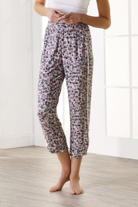Blissful Bamboo Tulip Cropped Pants