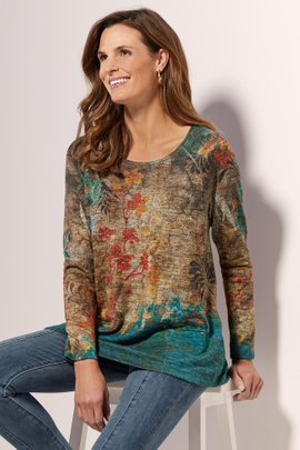 Mystical Blooms Tunic