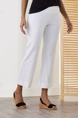 The Perfect Bootcut Crop Pants