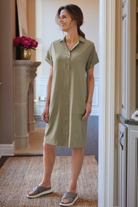Go Lively Shirtdress