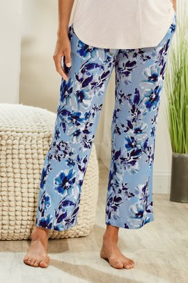 Blissful Bamboo Cropped Sleep Pants