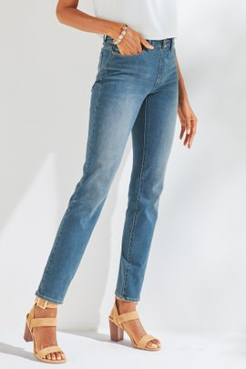 The Ultimate Denim Relaxed Straight Jeans