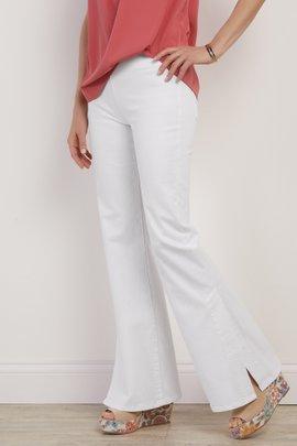 The Ultimate Flared Slit Leg Jeans