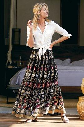 Moonlit Vines Skirt