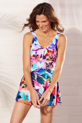 Garden Party Swim Dress