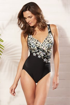 Miraclesuit Cloisonne It's A Wrap Swimsuit