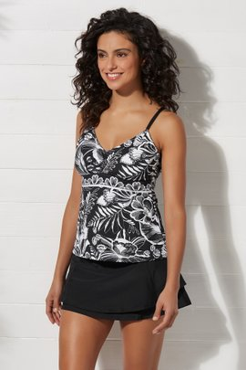 Tropical Paradise Tankini Top