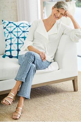 Valetta Print Jeans