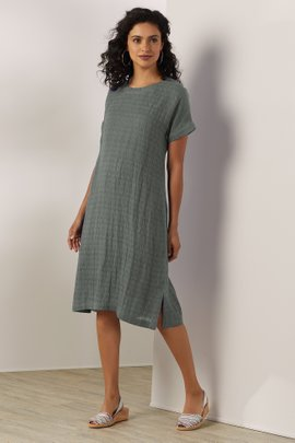 Remi Gauze Shirt Dress