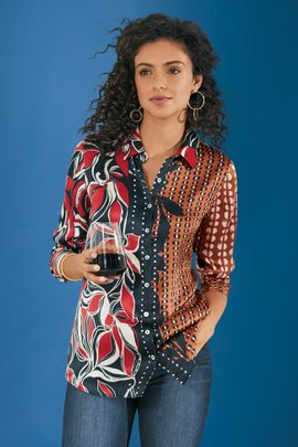 Tigris Silk Shirt