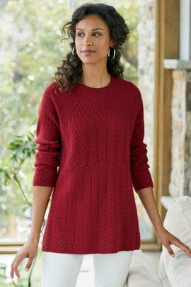 Cascade Cashmere Sweater