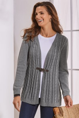 Wren Cable Cardigan