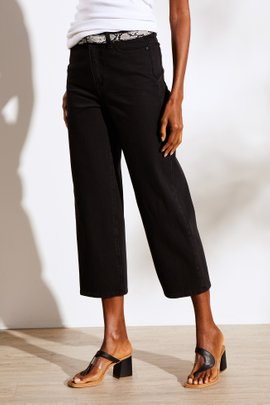 The Ultimate High-Rise Straight Cropped Jeans