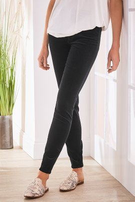 Corduroy High-Rise Skinny Pants