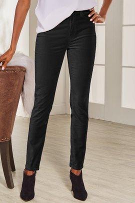 Velvet High-Rise Skinny Pants