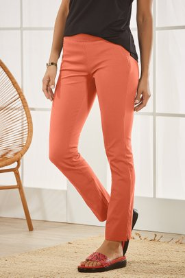Superla Stretch Pull-On Skinny Ankle Pants