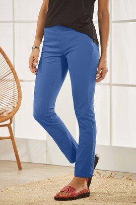 Superla Stretch Pull-On Skinny Ankle Pants