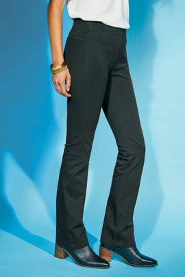 Superla Stretch Pull-On Bootcut Pants