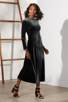 Lisabetta Velvet Dress