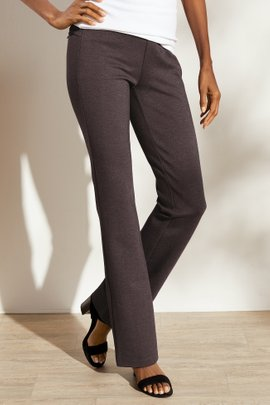 Perfect Ponte Pull-On Bootcut Pants