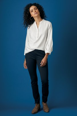 Perfect Ponte Pull-On Skinny Ankle Pants