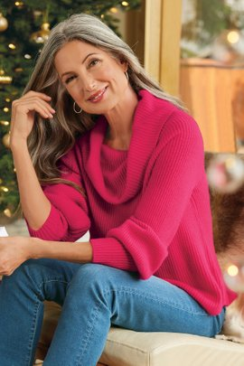 Calanthe Cashmere Pullover