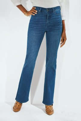 The Ultimate Denim High-Rise Bootcut Jeans