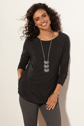 Go Lively Seamed Tee