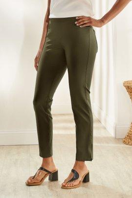Superla Stretch Ankle Zip Pants