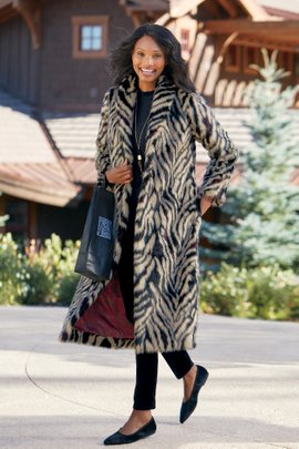 Yara Faux Fur Coat