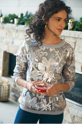 Glistening Pullover