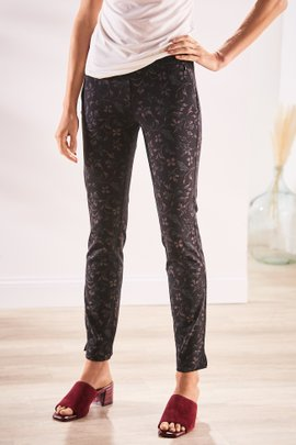 Superla Stretch Pull-On Josephina Skinny Ankle Pants
