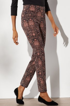 Superla Stretch Pull-On Celestial Straight Leg Pants