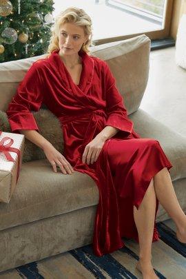 Silk Velvet Robe