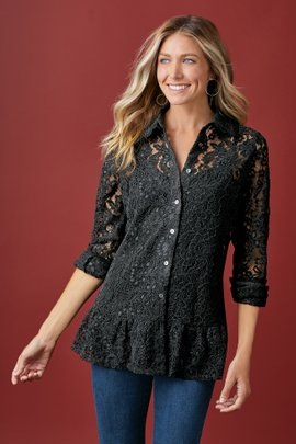 Alston Lace Shirt