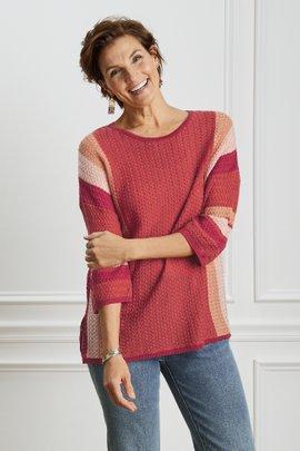 Abril Stripe Sweater
