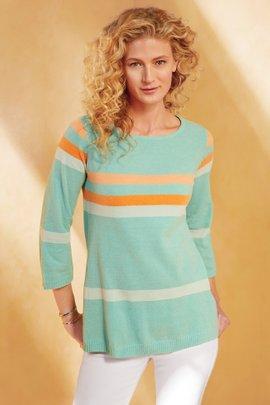 Zofia Stripe Sweater