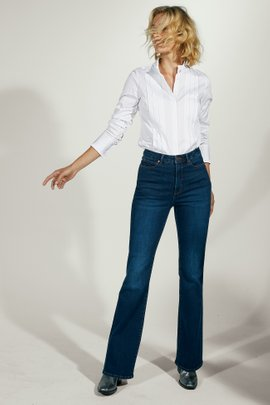 The Ultimate Denim High-Rise Flare Jeans
