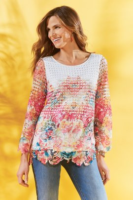 Flores Tunic