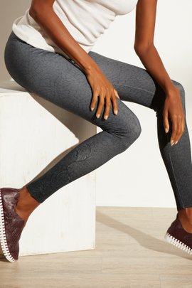 Superslim Patina Scroll Leggings